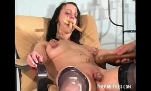 Bizarre female humiliation and filthy degradation of food enslaved obscene bitch