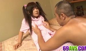 Shino nakamura nice-looking slutwife drilled on livecam