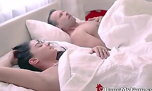 Dirty Dad Fucks Slutty Latin babe Stepdaughter Behind Wife's About