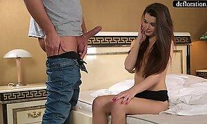 Abduction - a professional takes mirella's virginity