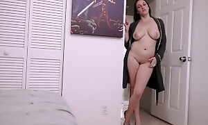 Step Mom with Huge Tits Gives Up Her Ass for My Birthday - Melanie Hicks